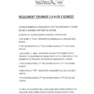 Règlement1-2-4 des mardis