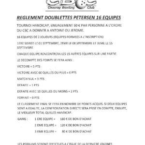 Doublettes Petersen Sept